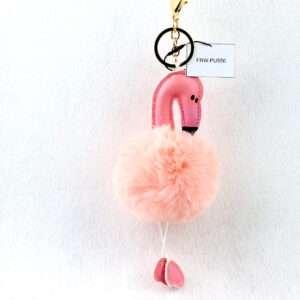 flamingo keychain 2