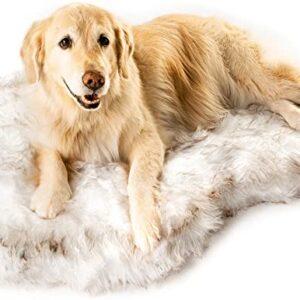 fur dog bed