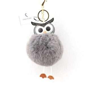 owl fur ball