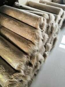 faux fur carpet rug in roll