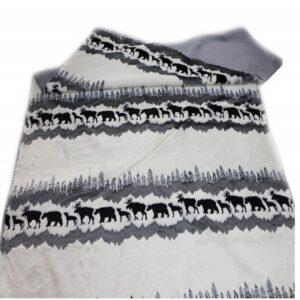 forest wool blanket