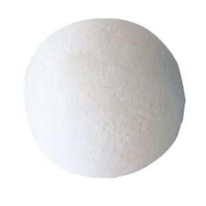 white yoga ball
