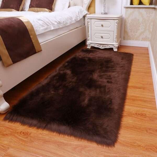 thick faux fur carpet for living room plush rug child bedroom fluffy floor carpets bedside home (4)