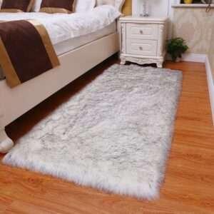 thick faux fur carpet for living room plush rug child bedroom fluffy floor carpets bedside home (7)